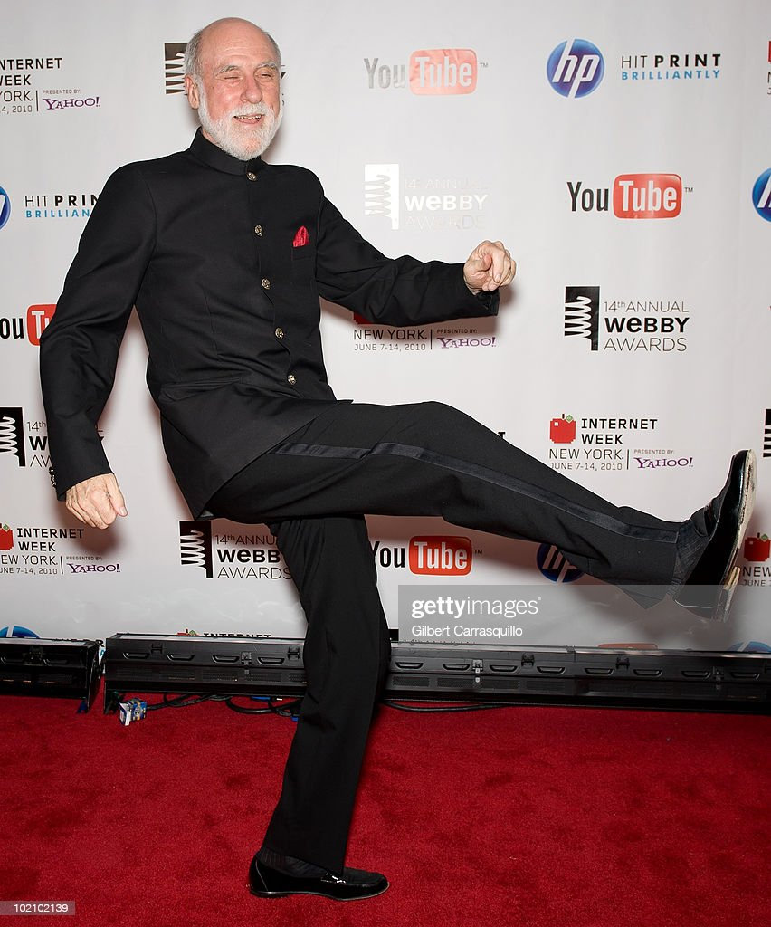 Vinton Cerf attends the 14th Annual Webby Awards at Cipriani, Wall Street on June 14, 2010 in New York City.