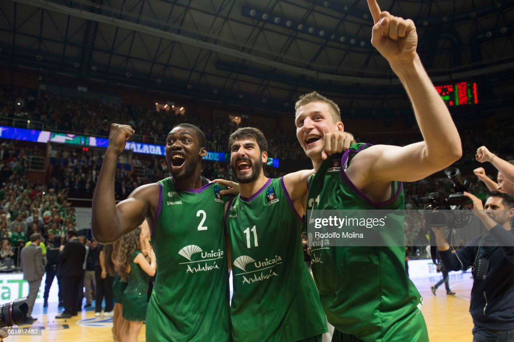 Valencia Basket v Unicaja Malaga - 2016-2017 EuroCup Basketball Finals Leg Two