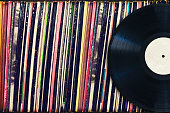 vinyl records retro life