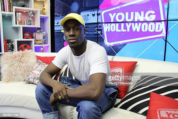 Vinz from Nico Vinz at the Young Hollywood Studio on October 29 2015 in Los Angeles California