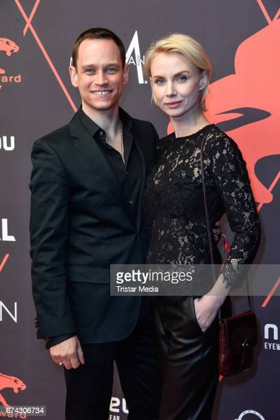 Vinzenz Kiefer and Masha Tokoreva attend the New Faces Award Film at Haus Ungarn on April 27 2017 in Berlin Germany