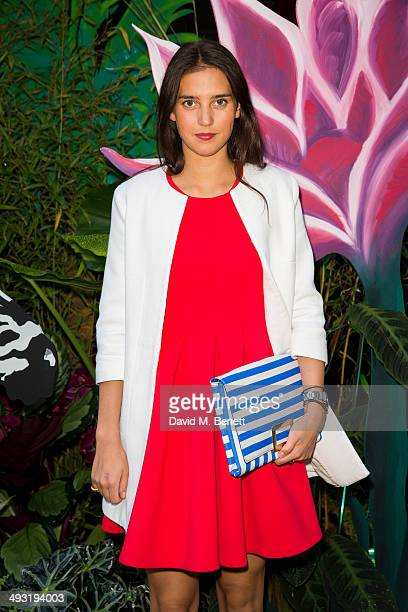 Viola Arrivabene arrives at Roger Vivier Summer Party at Loulou's on May 22 2014 in London England