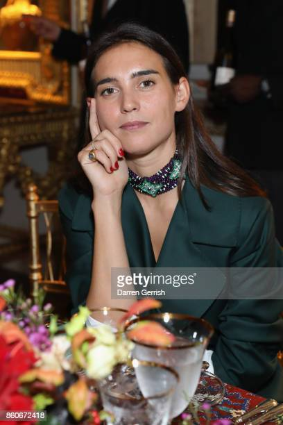 Viola Arrivabene attends Giampiero Bodino's 'Beauty Is My Favourite Colour' cocktails and dinner evening at Spencer House on October 11 2017 in...