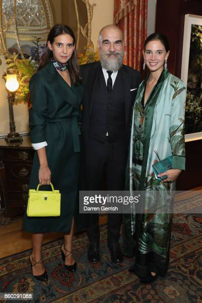 Viola Arrivabene Vera Arrivabene and Giampiero Bodino attend Giampiero Bodino's 'Beauty Is My Favourite Colour' cocktails and dinner evening at...