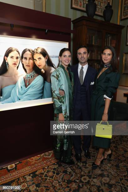 Viola Arrivabene Vera Arrivabene and Guido Taroni attend Giampiero Bodino's 'Beauty Is My Favourite Colour' cocktails and dinner evening at Spencer...