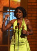 Viola Davis accepts her award onstage during the 64th Annual Tony Awards at Radio City Music Hall on June 13 2010 in New York City