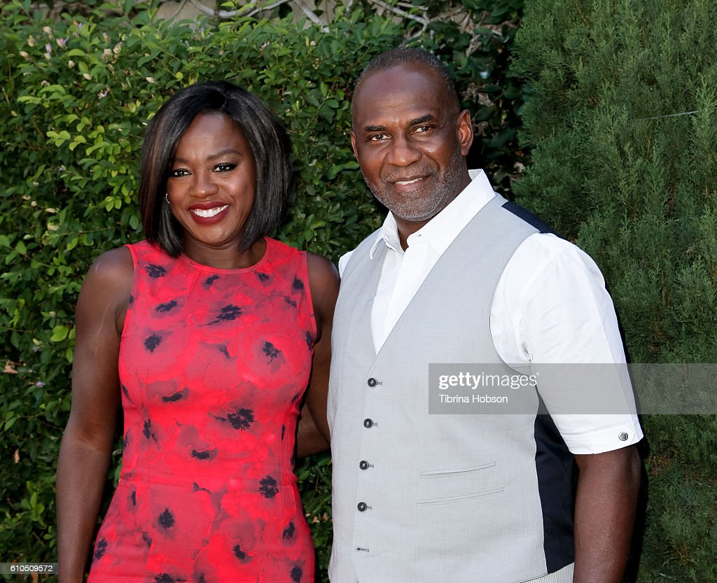Viola Davis and Julius Tennon attend The Rape Foundation's annual brunch on September 25, 2016 in Beverly Hills, California.