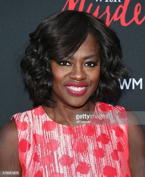 Viola Davis arrives at 'How To Get Away With Murder' ATAS event held at Sunset Gower Studios on May 28 2015 in Hollywood California