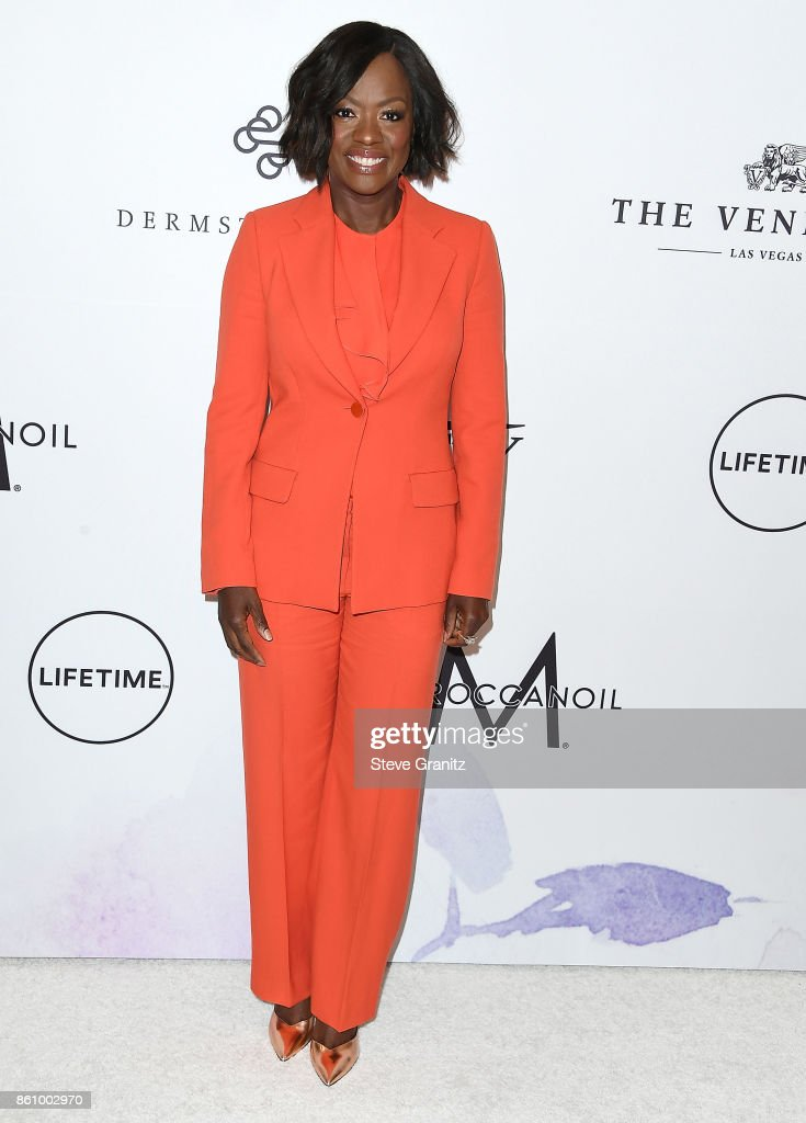 Viola Davis arrives at the Variety's Power Of Women: Los Angeles at the Beverly Wilshire Four Seasons Hotel on October 13, 2017 in Beverly Hills, California.
