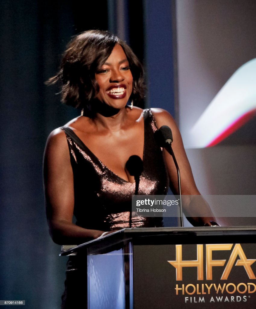 Viola Davis attends the 21st annual Hollywood Film Awards at The Beverly Hilton Hotel on November 5, 2017 in Beverly Hills, California.