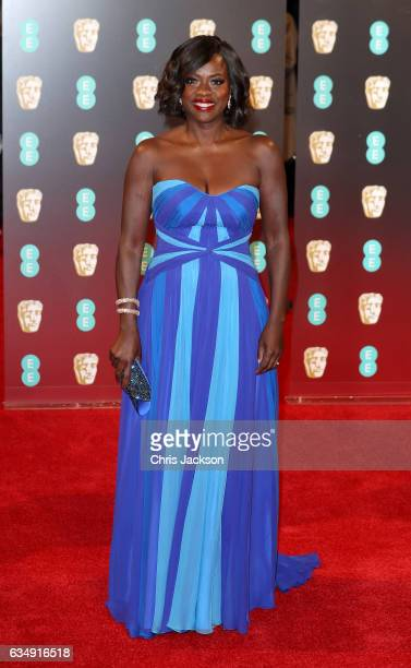 Viola Davis attends the 70th EE British Academy Film Awards at Royal Albert Hall on February 12 2017 in London England