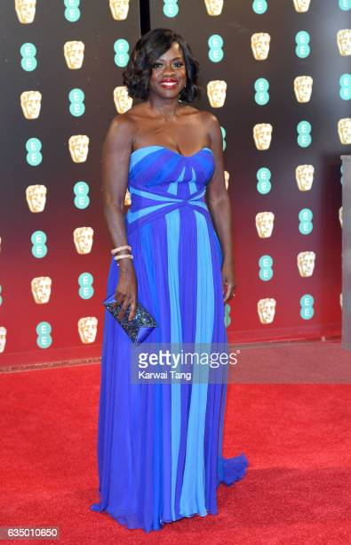 Viola Davis attends the 70th EE British Academy Film Awards at the Royal Albert Hall on February 12 2017 in London England