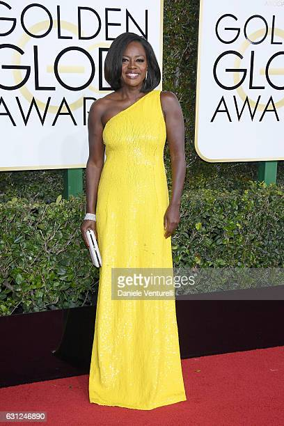 Viola Davis attends the 74th Annual Golden Globe Awards at The Beverly Hilton Hotel on January 8 2017 in Beverly Hills California