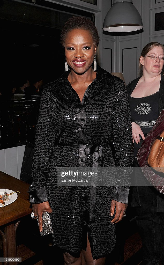 <a gi-track='captionPersonalityLinkClicked' href=/galleries/search?phrase=Viola+Davis&family=editorial&specificpeople=653789 ng-click='$event.stopPropagation()'>Viola Davis</a> attends The Cinema Society And Dior Beauty Presents A Screening Of 'Beautiful Creatures' After Party at Cole's Greenwich Village on February 11, 2013 in New York City.