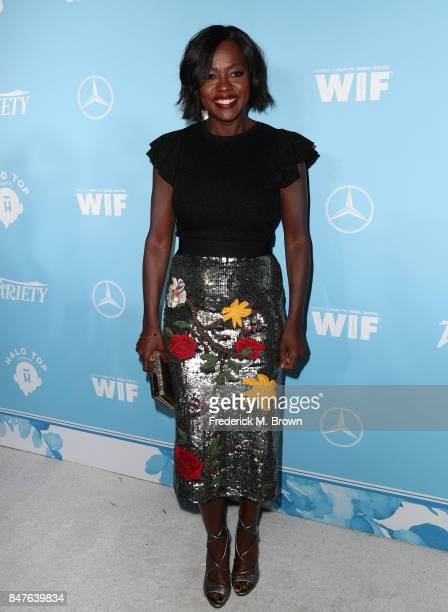 Viola Davis attends the Variety and Women In Film's 2017 PreEmmy Celebration at Gracias Madre on September 15 2017 in West Hollywood California