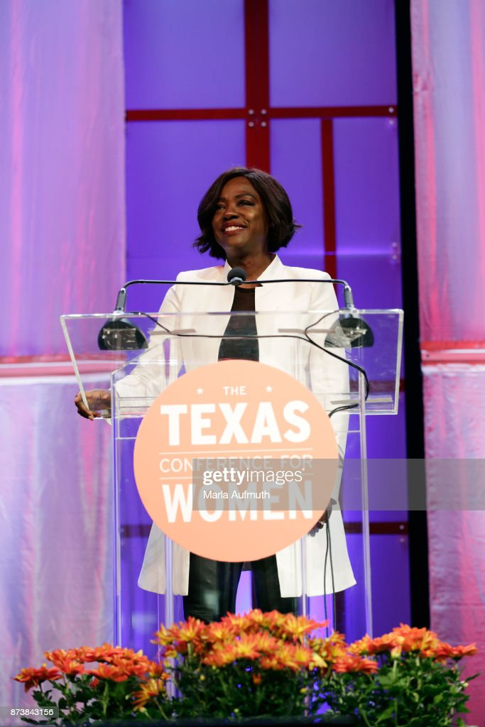 Viola Davis speaks at the Texas Conference For Women 2017 at Austin Convention Center on November 2, 2017 in Austin, Texas.