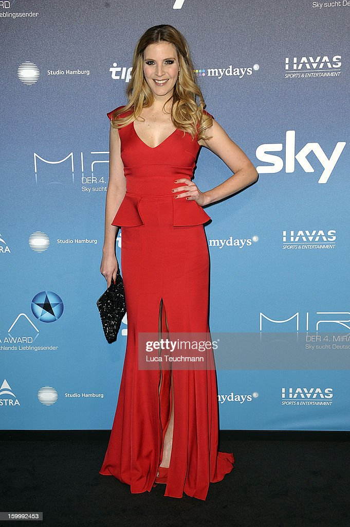 Viola Weiss attends the Mira Award 2013 at Station on January 24, 2013 in Berlin, Germany.