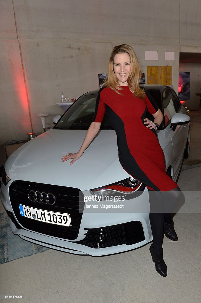 Viola Weiss attends the roofing ceremony at Audi second-hand car center on February 13, 2013 in Munich, Germany.