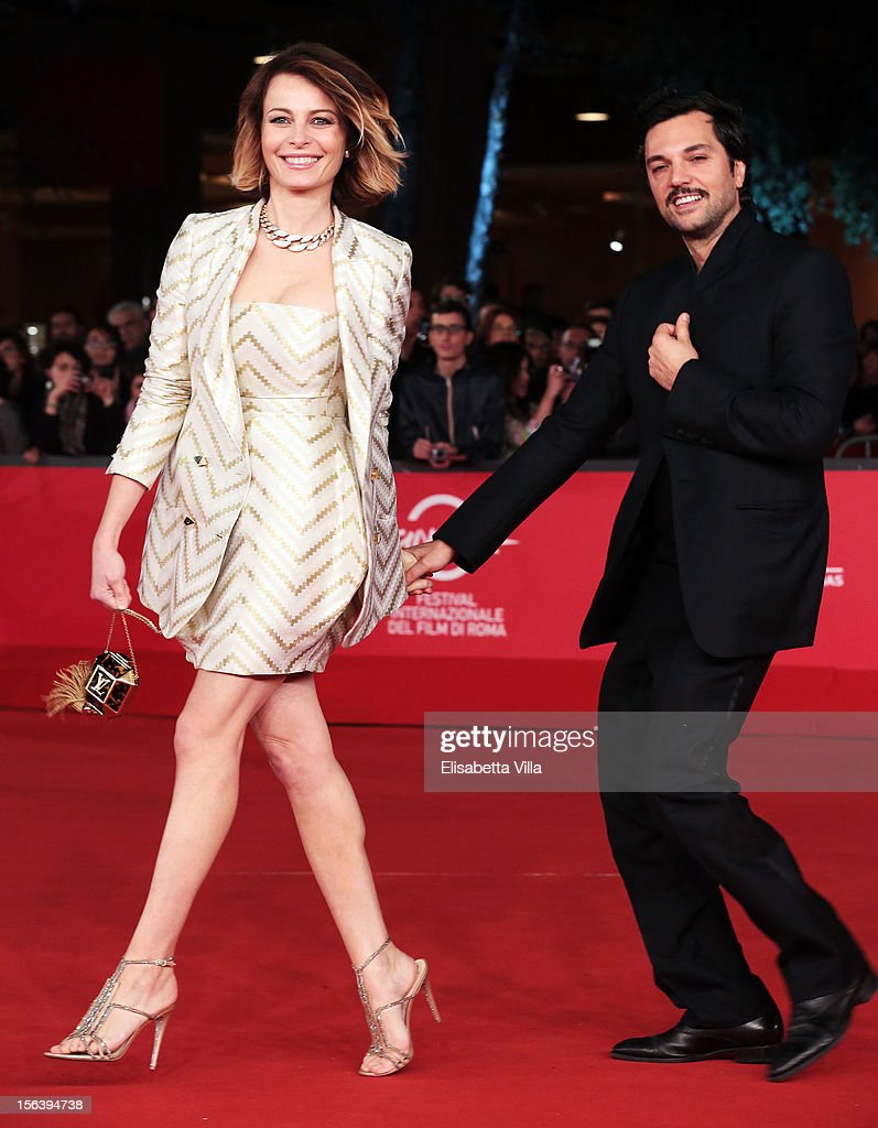 Violante Placido and Massimiliano d'Epiro attend the 'E La Chiamano Estate' Premiere during the 7th Rome Film Festival at the Auditorium Parco Della Musica on November 14, 2012 in Rome, Italy.