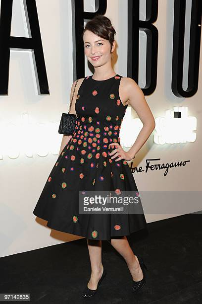 Violante Placido attends 'Greta Garbo The Mystery Of Style' opening exhibition during Milan Fashion Week Womenswear A/W 2010 on February 27 2010 in...