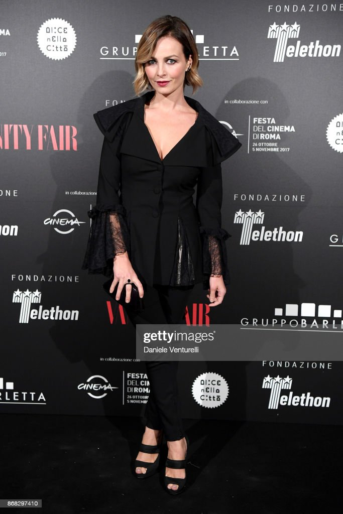 Violante Placido attends Telethon Gala during the 12th Rome Film Fest at Villa Miani on October 30, 2017 in Rome, Italy.