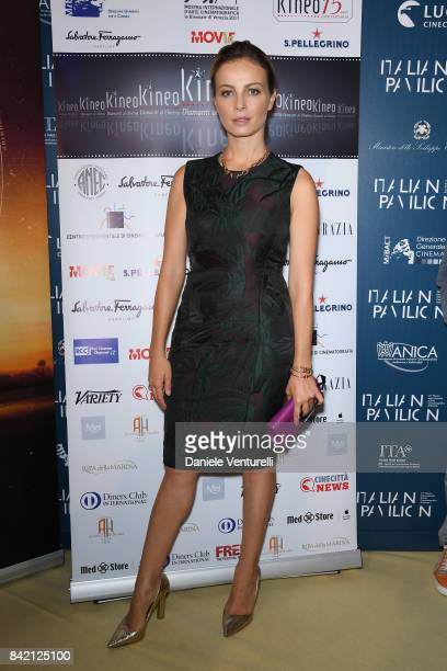 Violante Placido attends the Kineo Diamanti Awards press conference during the 74th Venice Film Festival at on September 3 2017 in Venice Italy