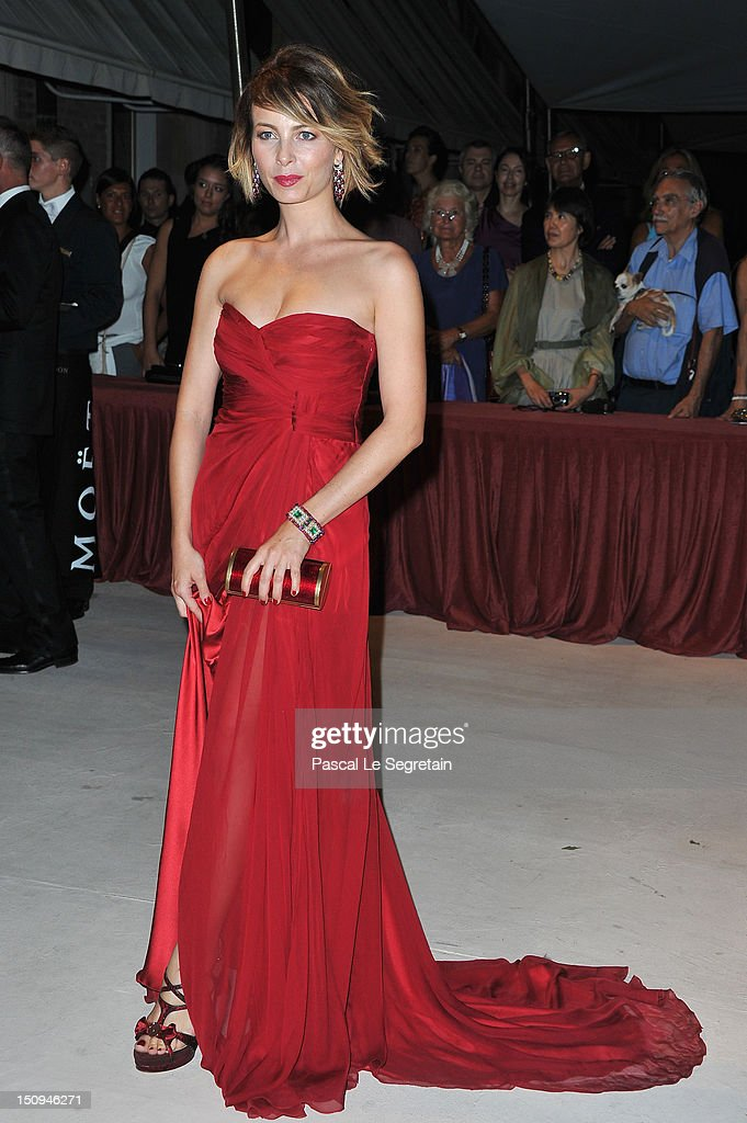 Violante Placido attends the Opening Ceremony Dinner during the 69th Venice International Film Festival at Palazzo del Cinema on August 29, 2012 in Venice, Italy.