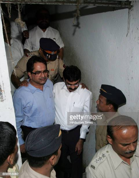 Violence MNS attack Outsiders Shishir Shinde and Bala Nandgaonkar Leaders of MNS being taken to court from Shivaji Park police station on Tuesday