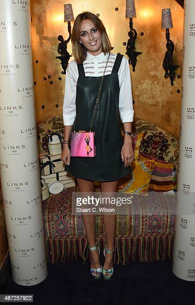 Violet Manners attends the Links Of London 25th Anniversary Event at Loulou's on September 7 2015 in London England