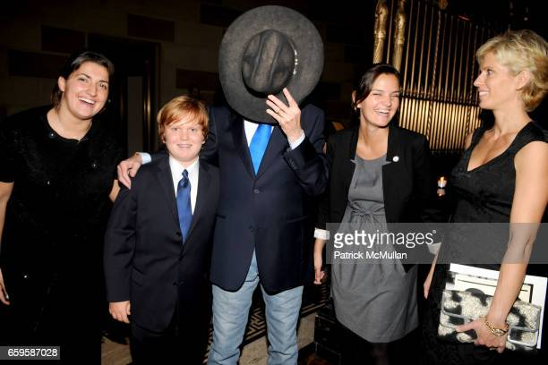 Violeta Prelvukaj Wyatt Imus Don Imus Lisa Yaconiello and Deidre Imus attend The 25th Anniversary of SKIP at Gotham Hall on October 28 2009 in New...