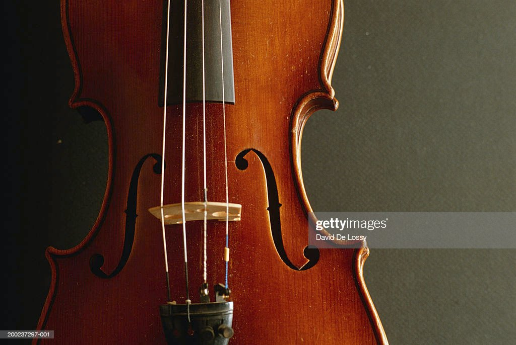Violin, close up : Stock Photo