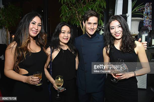 Violinist Charlie Siem and fellow musicians attend The Daily Front Row's celebration of the 10th Anniversary of CBS Watch Magazine at the Gramercy...