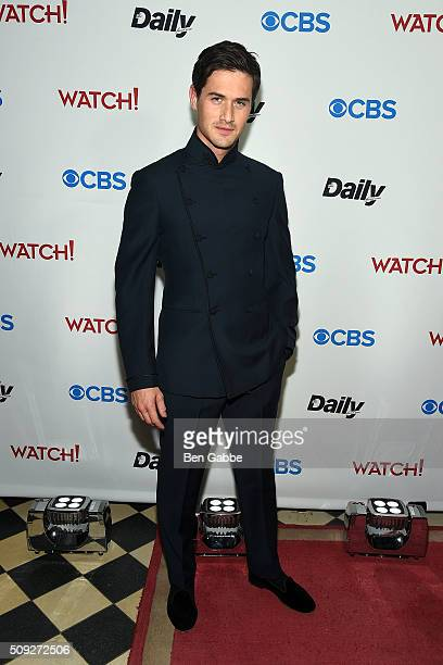 Violinist Charlie Siem attends The Daily Front Row's celebration of the 10th Anniversary of CBS Watch Magazine at the Gramercy Terrace at The...
