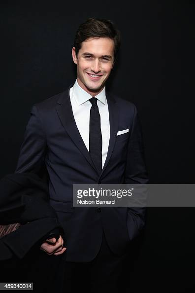 Violinist Charlie Siem attends the Hugo Boss Prize 2014 at Guggenheim Museum on November 20 2014 in New York City
