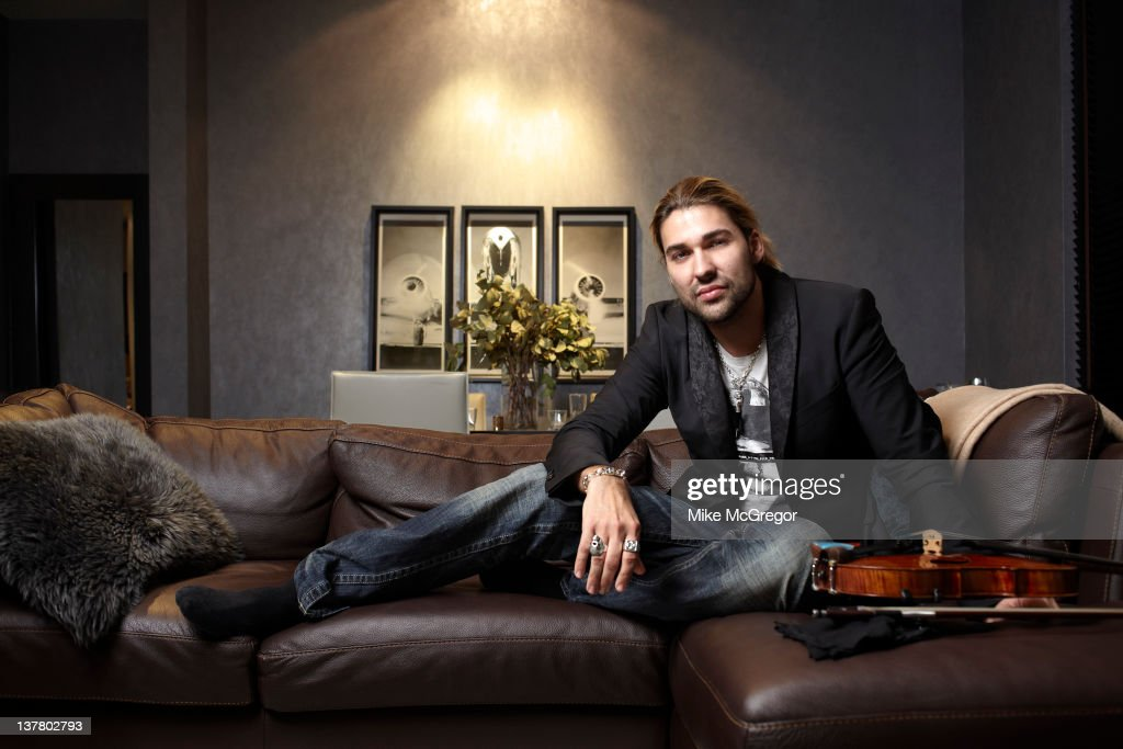 Violinist <a gi-track='captionPersonalityLinkClicked' href=/galleries/search?phrase=David+Garrett&family=editorial&specificpeople=4603343 ng-click='$event.stopPropagation()'>David Garrett</a> is photographed for You Magazine on March 2, 2011 in New York City. PUBLISHED IMAGE.