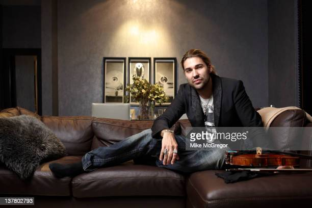 Violinist David Garrett is photographed for You Magazine on March 2 2011 in New York City PUBLISHED IMAGE