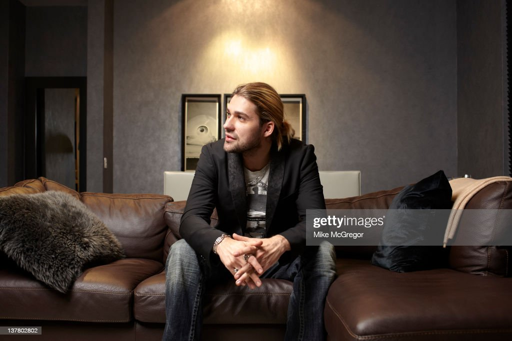 Violinist <a gi-track='captionPersonalityLinkClicked' href=/galleries/search?phrase=David+Garrett&family=editorial&specificpeople=4603343 ng-click='$event.stopPropagation()'>David Garrett</a> is photographed for You Magazine on March 2, 2011 in New York City.