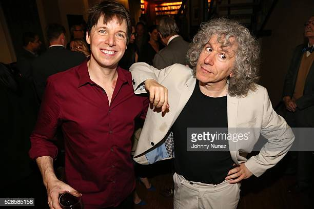 Violinist Joshua Bell and cellist Steven Isserlis attend Cinco De Mayo With Joshua Bell on May 5 2016 in New York City