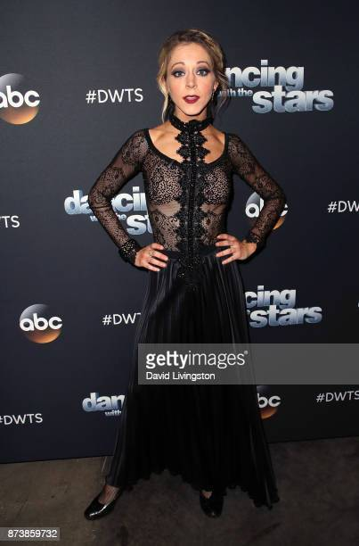 Violinist Lindsey Stirling poses at 'Dancing with the Stars' season 25 at CBS Televison City on November 13 2017 in Los Angeles California