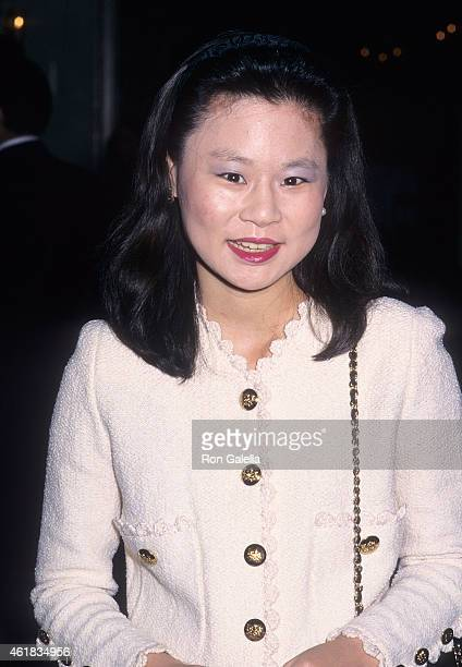 Violinist Midori Goto attends the Third Annual Americans for the Arts Awards on May 11 1998 at the Pierre Hotel in New York City