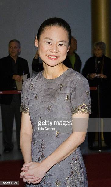 Violinist Midori walks the red carpet at the 17th Annual Kennedy Center Spring Gala at The Hall of Nations on May 3 2009 in Washington DC