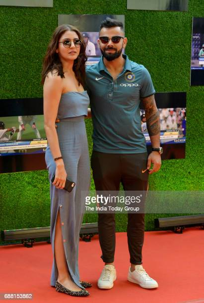 Virat Kohli and Anushka Sharma at the screening of Sachin A Billion Dreams in Mumbai