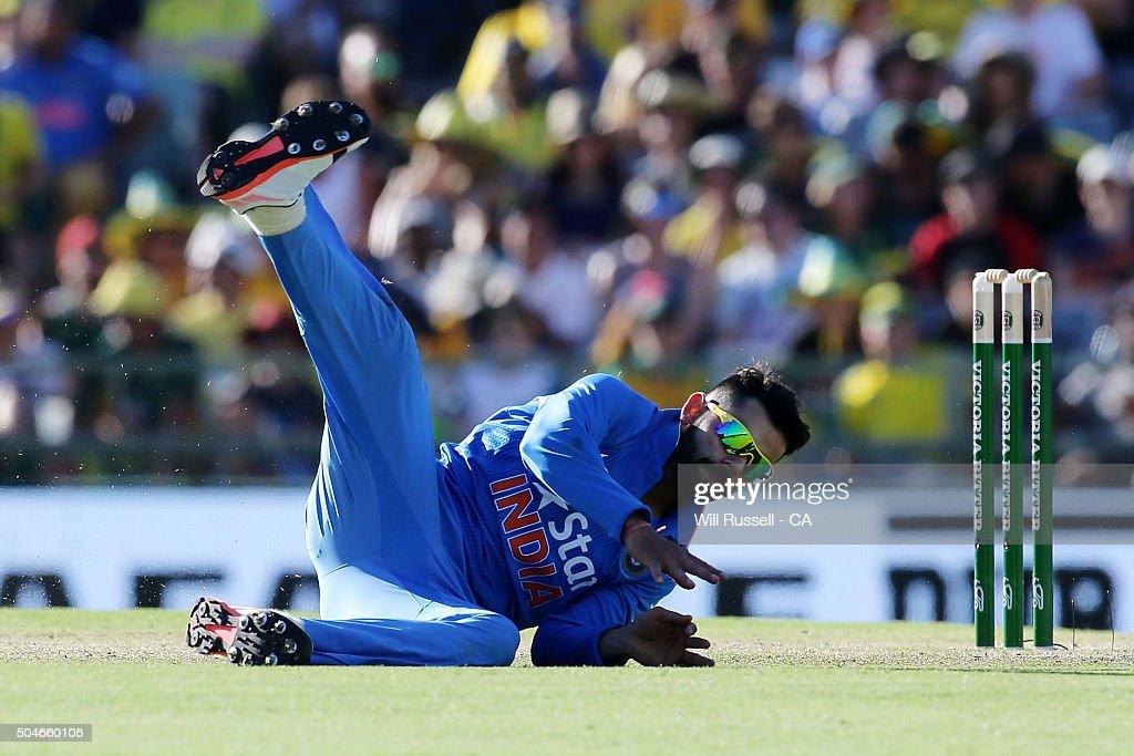 Australia v India - Game 1 : News Photo