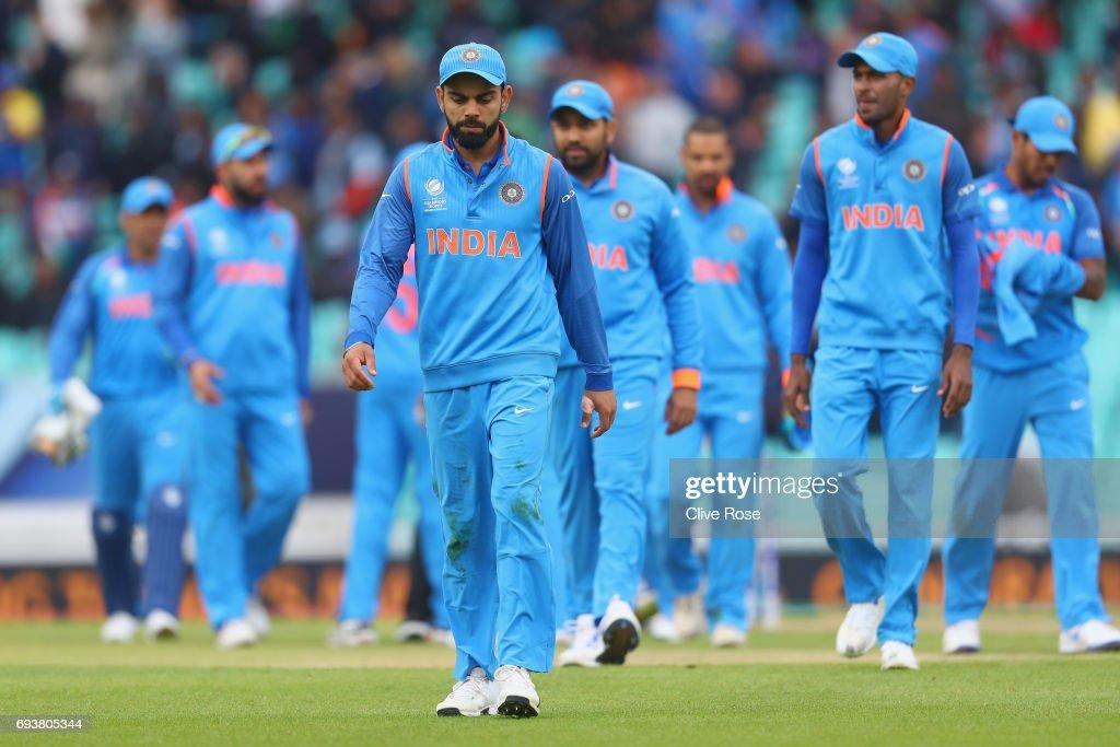 India v Sri Lanka - ICC Champions Trophy : News Photo