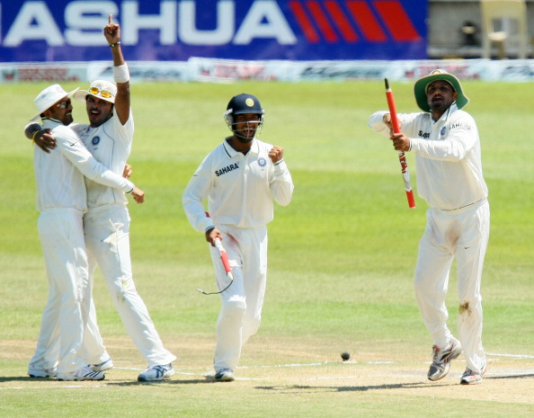 Second Test - South Africa v India: Day Four : News Photo