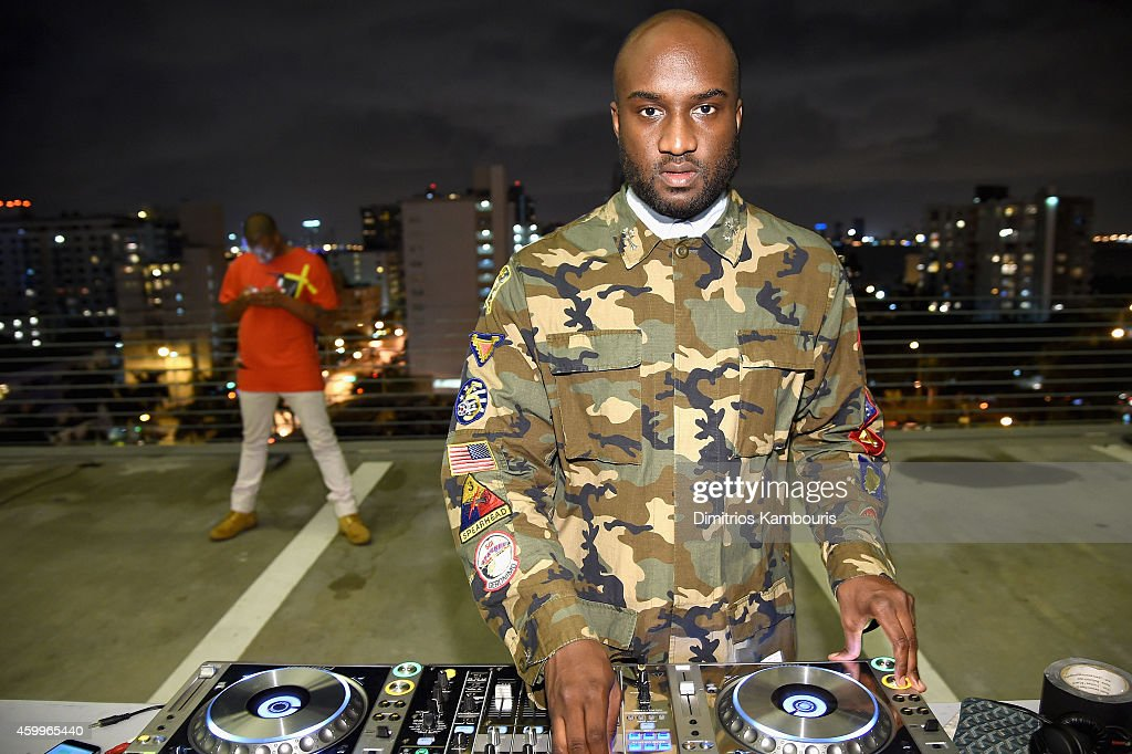 DJ <a gi-track='captionPersonalityLinkClicked' href=/galleries/search?phrase=Virgil&family=editorial&specificpeople=78328 ng-click='$event.stopPropagation()'>Virgil</a> Abloh attends Paper Magazine, Sprout By HP & DKNY Break The Internet Issue Release at 1111 Lincoln Road on December 4, 2014 in Miami, Florida.