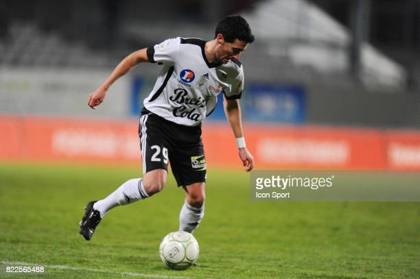 Virgile RESET Vannes / Bastia 18eme ournee de Ligue 2 Stade de la Rabine Vannes