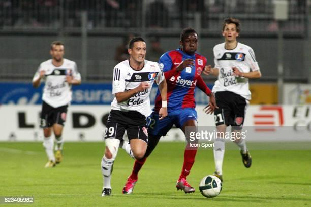 Virgile RESET / Christopher MABOULOU Vannes / Chateauroux 10eme journee de Ligue 2