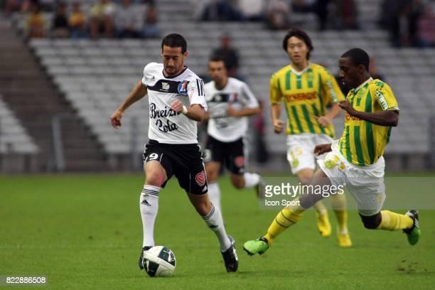 Virgile RESET / Lionel CAROLE Nantes / Vannes 5eme journee de Ligue2