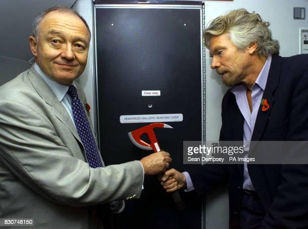 Virgin Atlantic showcases new security measures on board Virgin Atlantic planes it is strengthening its flight deck doors by reinforcing them with...